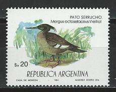 Argentinien, Mi 1709 ** MNH Mergus Octosetaceus