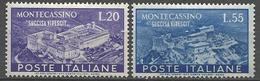 ITALIE YVERT N° 602 ET 603 NEUF* TRACE DE  CHARNIERE  TB   / MH - 1946-60: Ungebraucht