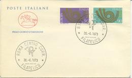 ITALIA - FDC  CAVALLINO  1973 - EUROPA UNITA - CEPT - 6. 1946-.. Republic