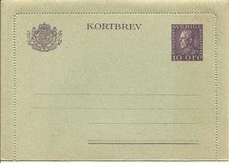 1925  Kortbrev  10 öre  New