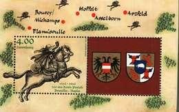 Luxembourg Bloc-Feuillet (4euros) 500 Ans Route Postale Tour Et Tassis Traversant Le Territoir Actuel Du Luxembourg 2016