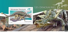 TOGO 2014 - Dinosaurs, Cactus - YT BF935; CV = 14 €