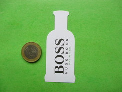 BOSS HUGO    -  Carte Parfumée - Modern (from 1961)