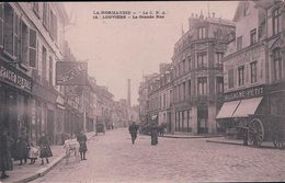 France 27, Louviers Grande Rue, Cachet Chemin De Fer ROUEN- PARIS (18) - Louviers