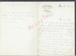 MILITARIA LETTRE MILITAIRE AVIATION PREMIÈRE DIVISION AÈRIENNE LE COLONEL COMMANDANT À METZ 1920 : - Aviation