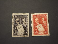 RUSSIA - 1948 MANIFESTO  2 VALORI - NUOVI(++) - 1923-1991 URSS