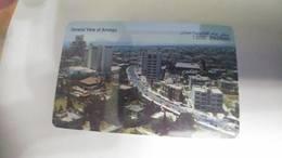Jordan-(jor-a031)-view Of Amman Kiny Abdullan Mosqe(15jd)-(9/98-9/2000)-tirage-100.000-used Card+1 Card Prepiad Free