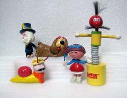 Le Manège Enchanté : 5 Figurines + DVD Le Film (2005) : Pollux - Margote - Ambroise - Jouvence + Zabadie - Figurines