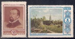 Russia 1952, Michel Nr 1649-50, MNH OG - 1923-1991 USSR