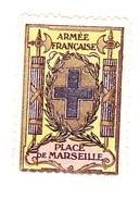 Vignette Militaire Delandre - Place De Marseille - Vignettes Militaires
