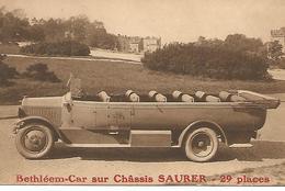 Bethléem-Car Sur Chàssis Saurer 29 Plaatsen - Buses & Coaches