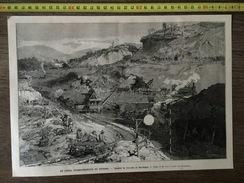 DOCUMENT 1883  LE CANAL INTEROCEANIQUE DE PANAMA BAS OBISPO - Vieux Papiers