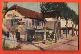 IAK-12 Route Roanne - Riorges, Relais Du Pontet,Auberge,la Heuse. Circulé En 1939, Timbre Manque, Gros Pli Vertical - Autres Communes