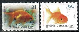 MACEDONIA 2014 Fauna - Aquarium Fish MNH - Macédoine