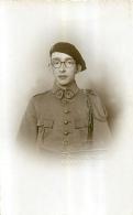 CARTE PHOTO  CHENOZ RUE DE ROME MARSEILLE SOLDAT  REGIMENT 141 - Regimente