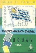 CATALOGO ESPECIALIZADO DE ESTAMPILLAS DEL URUGUAY KOBYLANSKI CASAL 1989 EDITOR MUNDUS 238 PAGINAS - Postzegelcatalogus