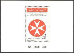 ORDEN VON MALTA 1988 Block Luogotenenza Interinale 1988 ** MNH (70) - Malta (Orden Von)