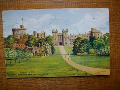 Berkshire , Windsor Castle , The Royal Entrance From The Long Walk