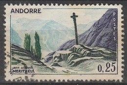 ANDORRE -  1961/71 - Timbre ʘ, Oblitéré N° YT 158