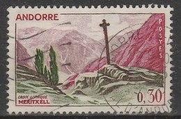 ANDORRE -  1961/71 - Timbre ʘ, Oblitéré N° YT 159