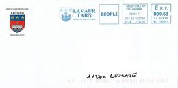 EMA ML 103481 Haute Garonne + Flamme Lavaur Tarn Blason Château Fleur Lys