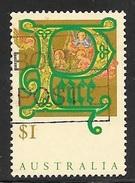 1993 $1 Christmas, Peace, Used