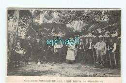 B- METIER - BOIS - HUTTE De BUCHERONS - Concours Agricole  - Exposition De 1907 - Métiers