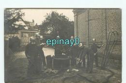 B - SAPEUR S POMPIERS - CARTE PHOTO à LOCALISER - POMPIER - POMPE - Sapeurs-Pompiers