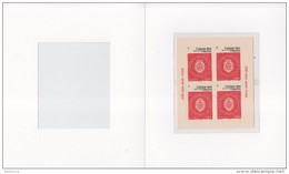 Caisse Des Dépôts Bloc De 4 Timbres Neufs à 0.80€ Adhésifs Dans Encart Cartonné