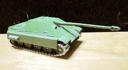 SOLIDO: Chasseur De Chars Allemand JAGDPANTHER AUSF- G + Canon Pour JEEP FJ - Panzer