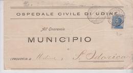 Regno 1/5/1920 Manoscritti Ospedale Udine Per S. Odorico - 1900-44 Vittorio Emanuele III