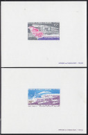 Mauritania 1979 Wright Brothers. Set Of 2 Deluxe Proofs. Scott C190-1. Yvert PA190-1. - Mauritania (1960-...)