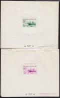 Algeria 1939 New York World's Fair. Set Of 5 Deluxe Proofs With Glassine Overlays. Scott 126-30. Yvert 153-7. - Altri