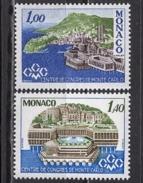 MONACO 1978 SERIE  N° 1136 Et N° 1137 - 2 TP NEUFS** - Monaco