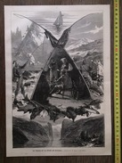 DOCUMENT 1883 LA CHASSE ET LA PECHE EN NORVEGE - Collections