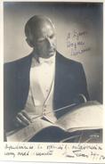 ERIK OLUF TUXEN DANISH BIG BAND LEADER COMPOSER AND ARRANGER AUTOGRAPH FROM 1954 SUR PHOTO ORIGINAL - Autographs
