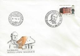 HUNGARY - 1981. FDC - Calvinist College At Papa, 450th Anniversary  Mi:3508. - FDC