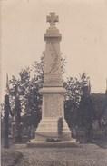 Carte-photo  : Saint Aubin D'Appenai  (61) Le Monument Aux Morts De La Grande Guerre 'pour L'inauguration) - Autres Communes