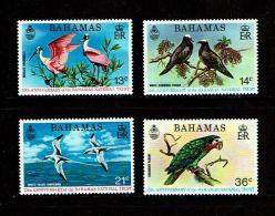 Bahamas 1974 Sc # 362 / 365  MNH **  Birds - Oiseaux - Pájaros