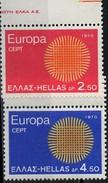 PIA - GRECIA  - 1970  : Europa   - (Yv 1020-22)