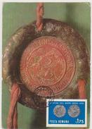 ROMANIA MAXI CARD -YEAR-1491SEAL Of STEFAN The GREAT EMPEROR MOLDOVA