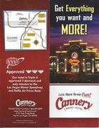 Cannery Casino - Multi-Page Brochure - North Las Vegas, NV USA - Cartes De Casino