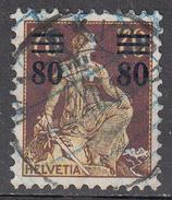 SWITZERLAND    SCOTT NO. 189     USED       YEAR 1915