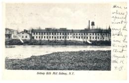 19471  NY Sidney  Silk Mill - NY - New York