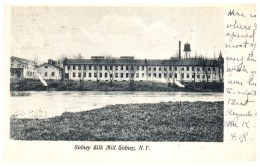19471  NY Sidney  Silk Mill - Altri