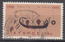 CYPRUS     SCOTT NO. 281      USED        YEAR  1966 - Cipro (Repubblica)