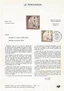 NOTICE PTT 1978 LE PERCHERON - Documents Of Postal Services