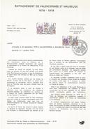 NOTICE PTT 1978 REUNION DE VALENCIENNES ET MAUBEUGE - Documents Of Postal Services