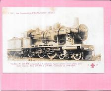 LES LOCOMOTIVES FRANCAISES - Machine N° 230-878 Compound à 4 Cylindres - VAN4 - - Trains