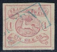 Seesen Auf 1 Sgr. Lilarosa - Braunschweig Nr. 1 - Tiefst Geprüft BPP Mit Befund - Kabinett - Braunschweig